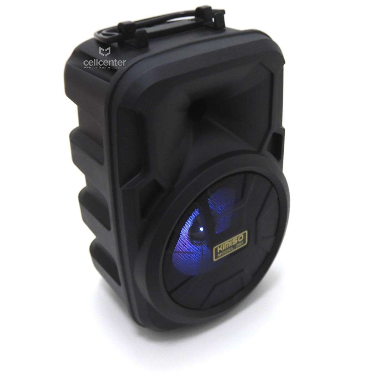 Caixa De Som Bluetooth Mini Entrada P10/P2/USB/TF Kimiso - 2001