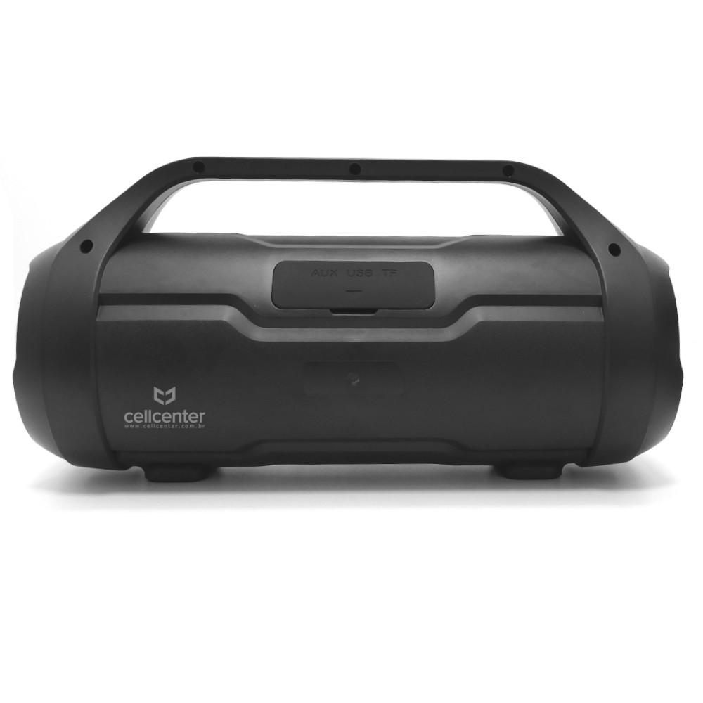 Caixa de Som Boombox Multilaser 180w Bt/Aux/Sd/Usb/Fm Sp339