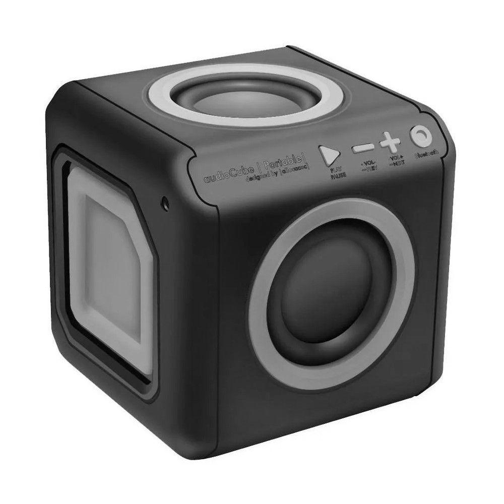 Caixa De Som Portátil Bluetooth 20W Preto/Cinza