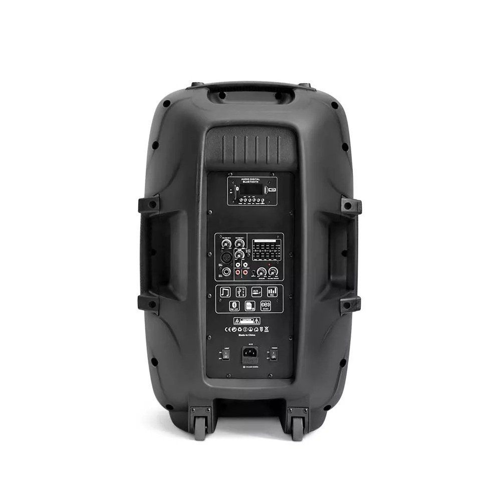 Caixa de som profissional amplificada 500w Rms Bluetooth Multilaser Sp263