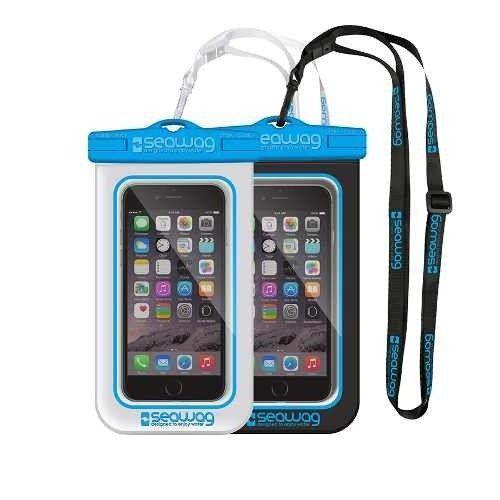 Capa Case À Prova D'água Celular Seawag Ipx8 Iphone Galaxy
