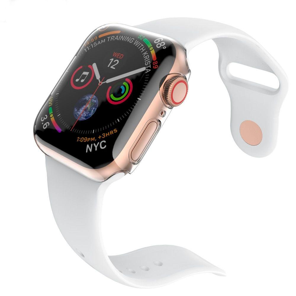 Capa Case Protetora Para Apple Watch Silicone Tpu Series 1/2/3/4 38/40/42/44mm