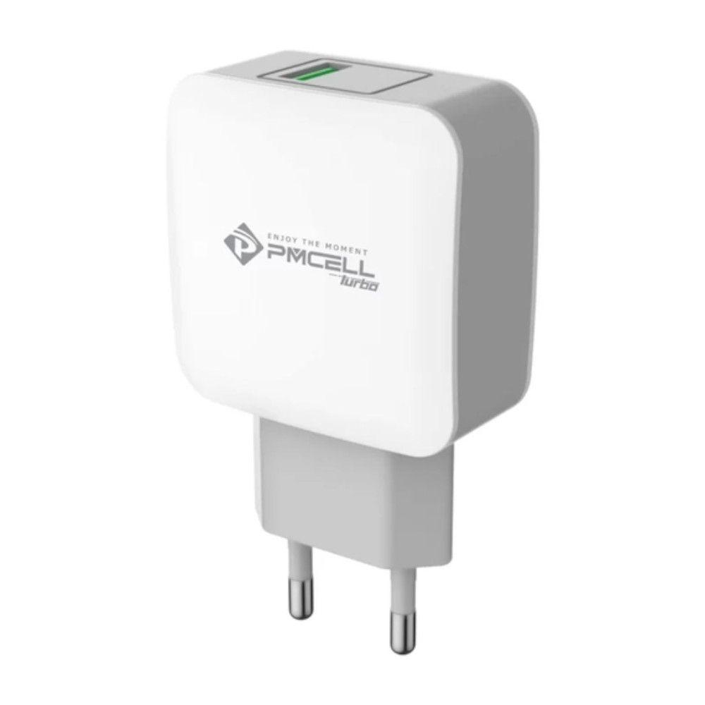 Carregador de Celular Turbo 15W USB Pmcell HC-31