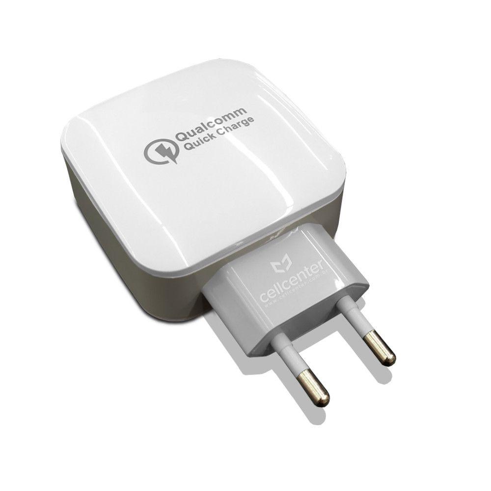 Carregador de Celular Turbo 3.0 3 USB Pmcell HC-44