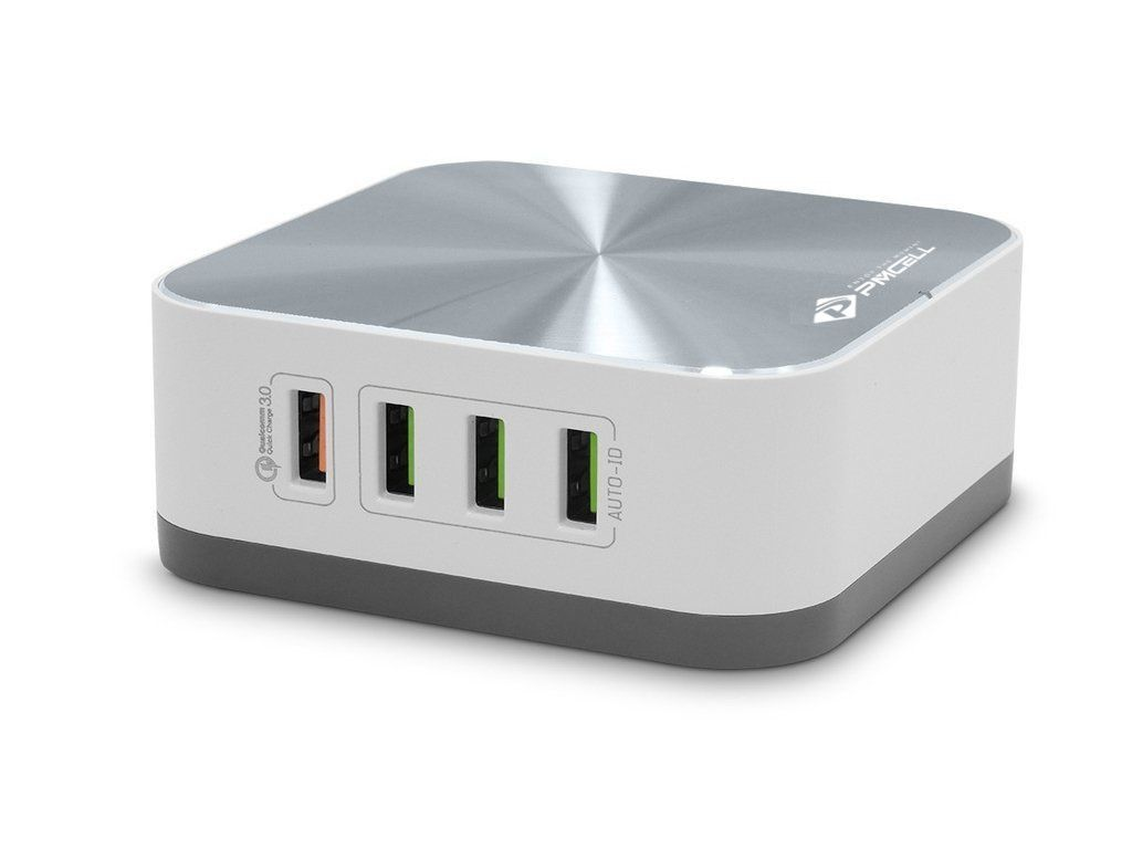 Carregador 10a 8 Usb Super Rápido Quick Charge 3.0 Pmcell 50W
