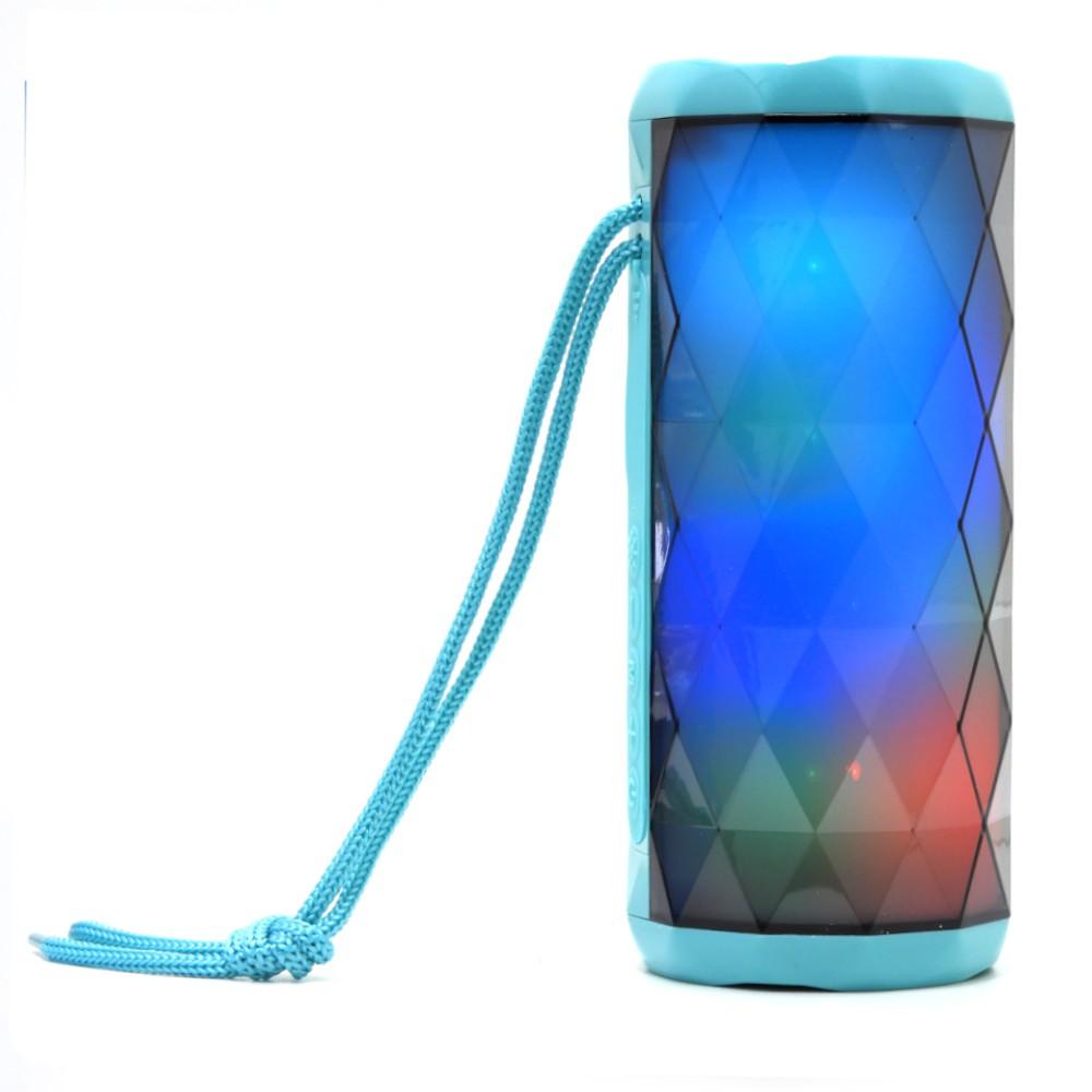 Ciaxa de Som Bluetooth Portátil com luz LED H'Maston YX-167