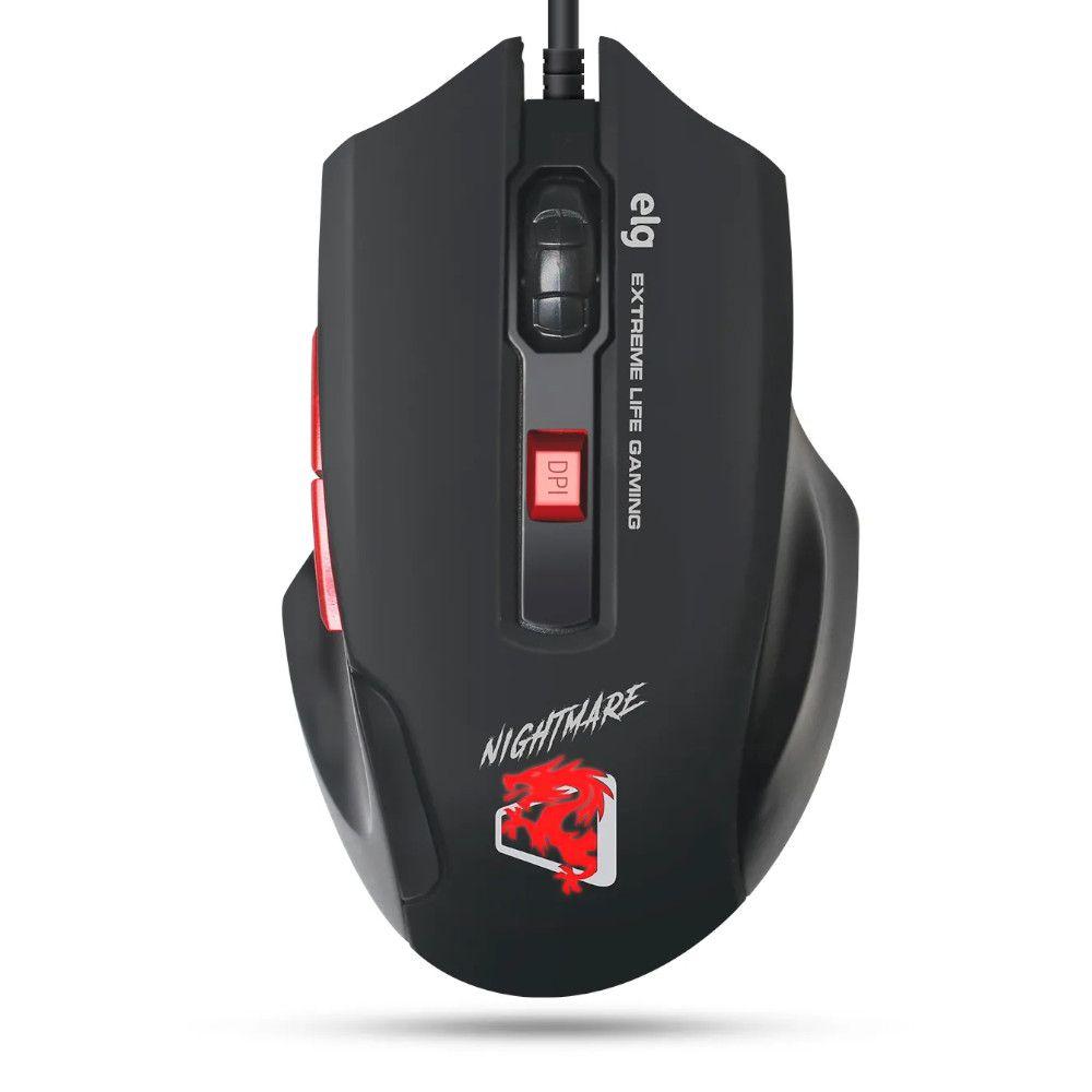 Combo 4 Em 1 Headset Clear Sound, Mouse High Precision 4.000dpi, Teclado Membrana Tripla e Mouse Pad Sense Control – STARTER – CGST41