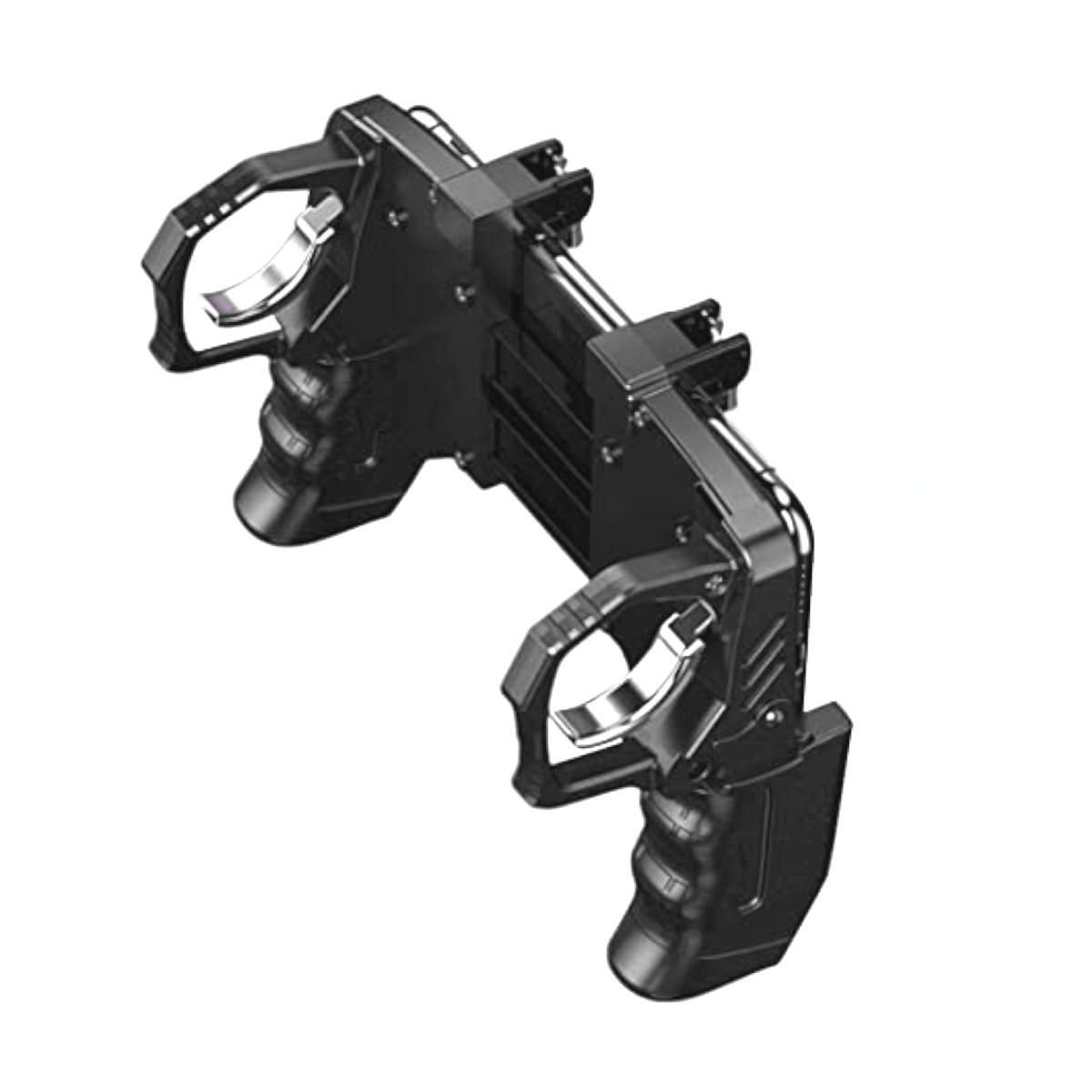 Controle de Jogo de Celular K21 com Botão e Gatilhos