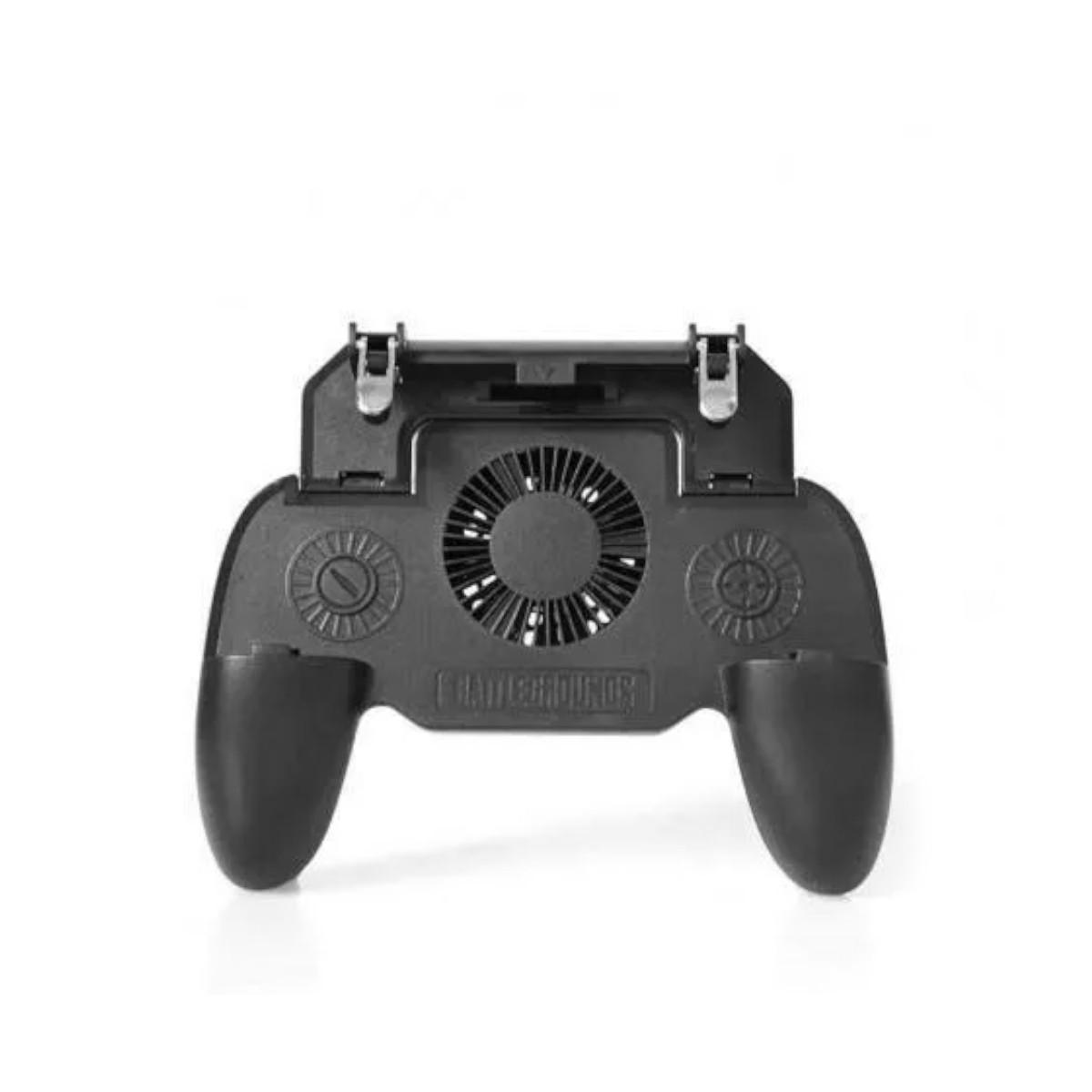 Controle Gamepad com Cooler Ventilador Power Bank de 2000mAh Gatilho Pubg