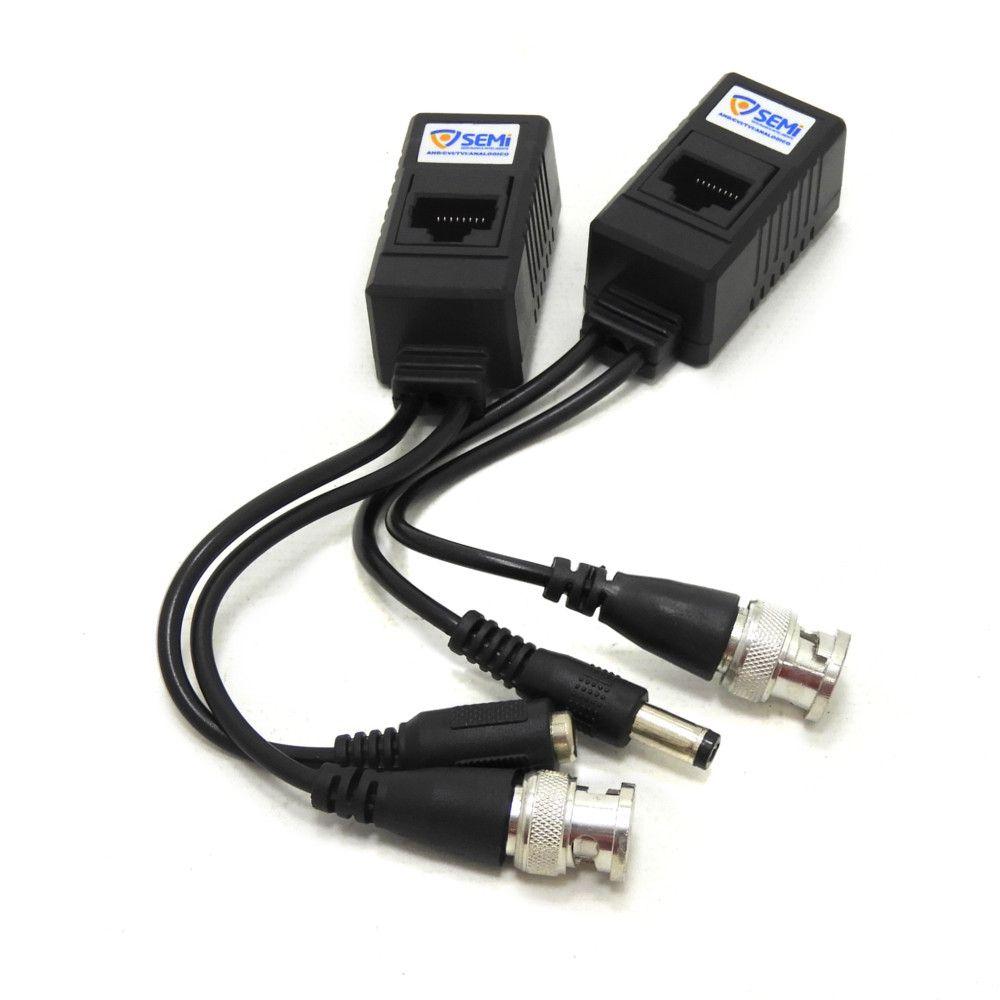 Conversor de vídeo para traçado CVBS/HD-TVI/HDCVI/AHD Via RJ45 SC1304