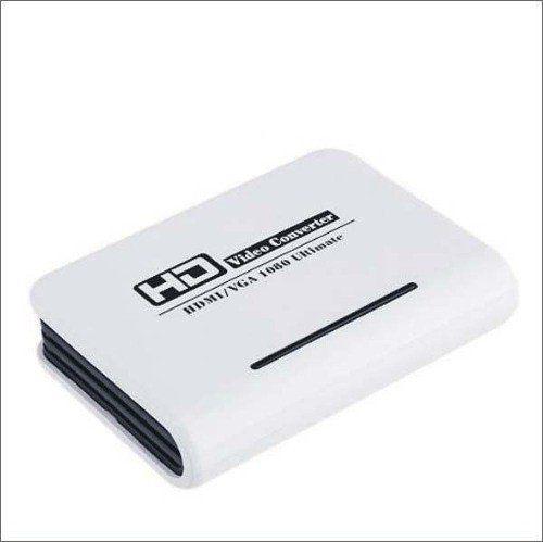 Conversor Vga Para Hdmi Adaptador 1080p Tv Xbox Ps3 Pc