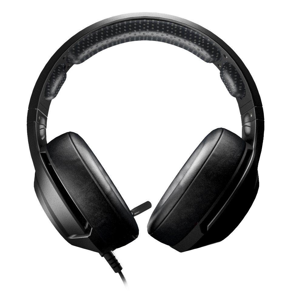 Headset Archer 7.1 Microfone USB LED PC Gamer Hoopson LF80 Vermelho