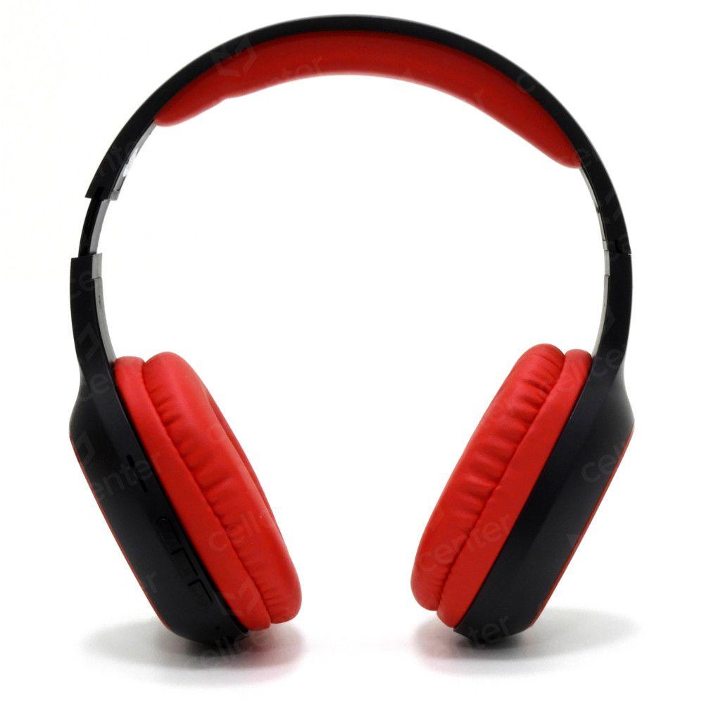 Headset Bluetooth C/ Microfone - Entrada Micro SD Cabo Micro USB EPB-MS1RD - ELG