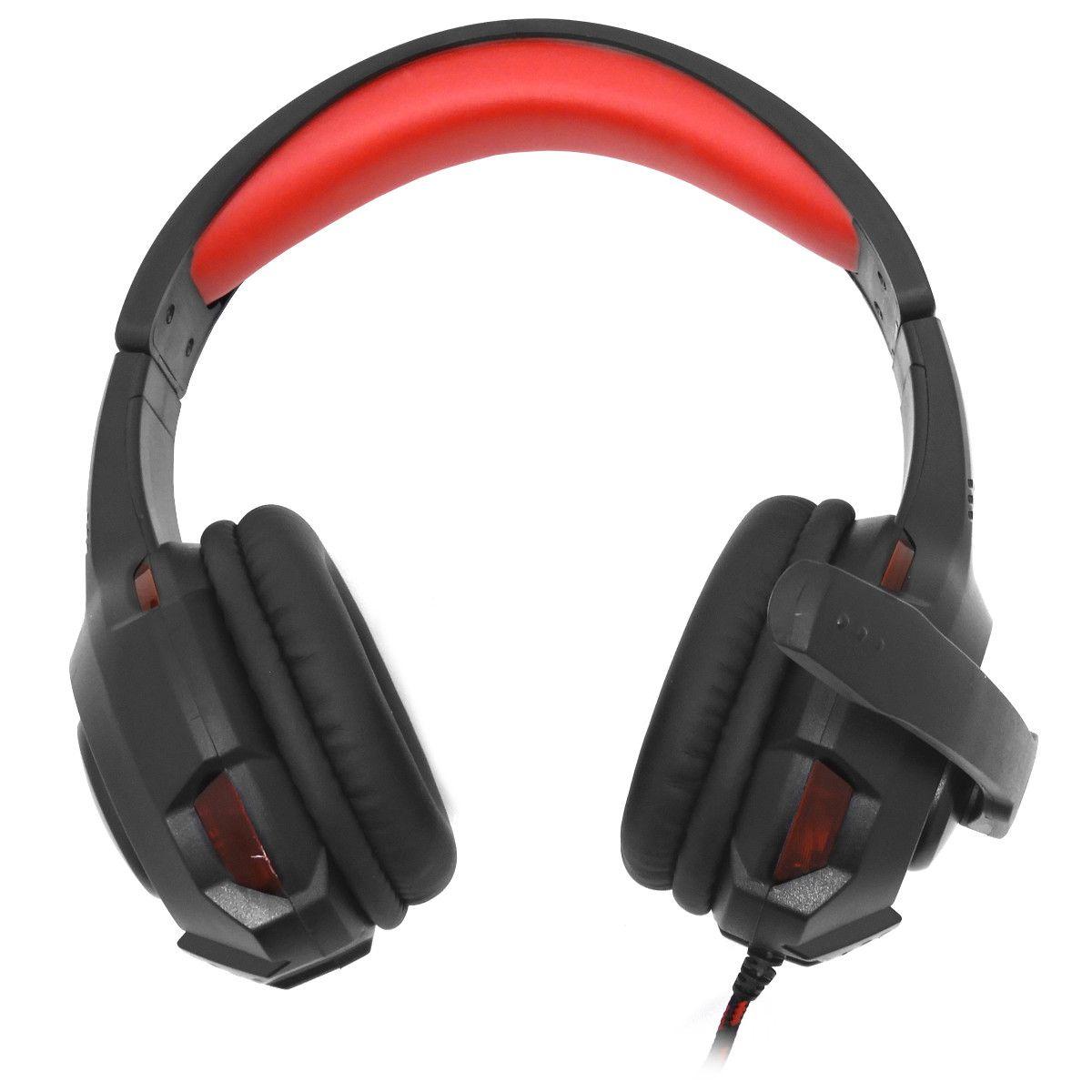 Headset Gamer Led Microfone super Bass Bright-0468