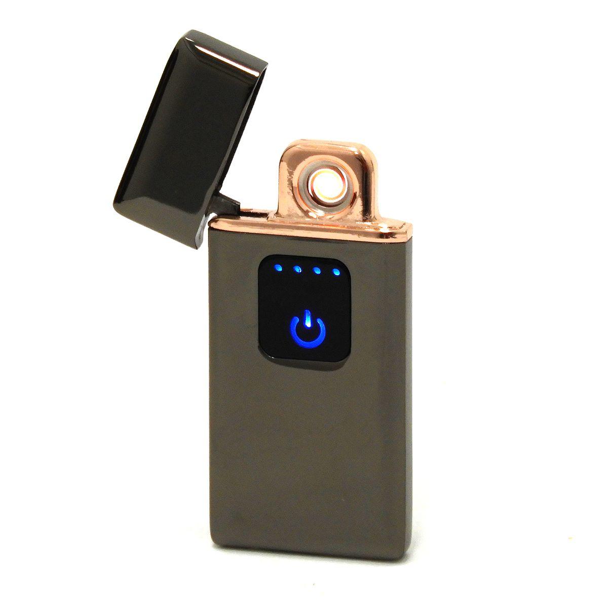 Isqueiro Eletrônico Recarregável USB Exclusivo, Elegante e Durável -Lighter
