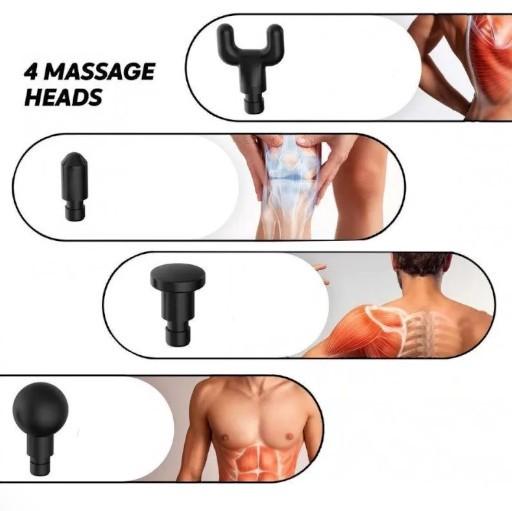 Massageador Portátil Manual 6 Níveis Xtrad HG-320