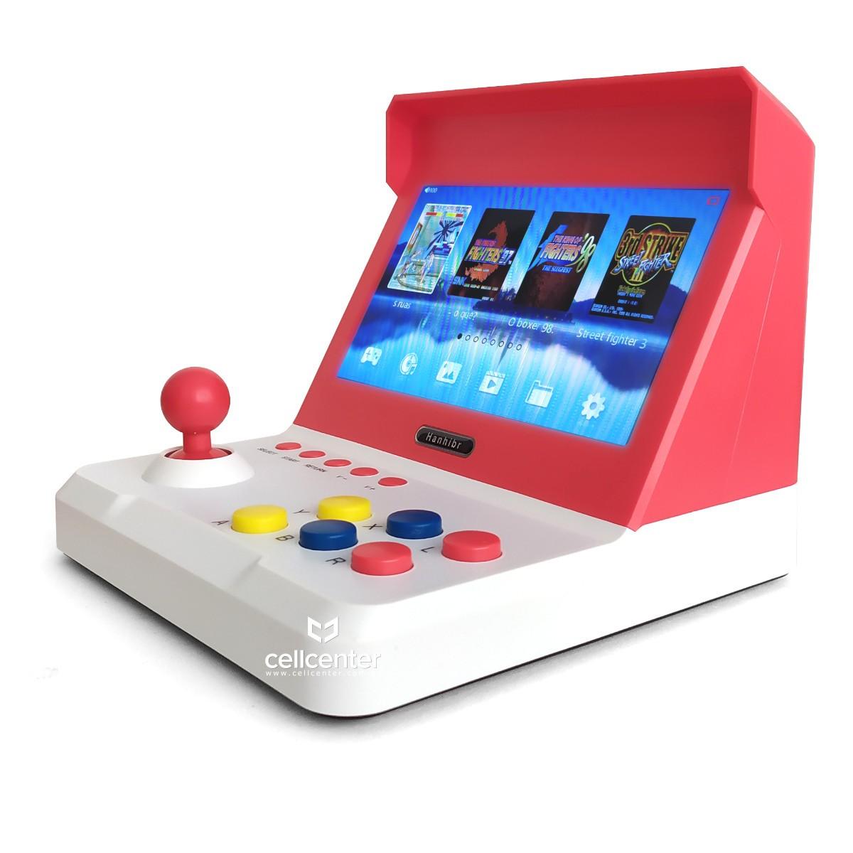 Mini Fliperama Portátil Retro Arcade Consoles Clássicos Com dois Controles mais de 2000 Jogos
