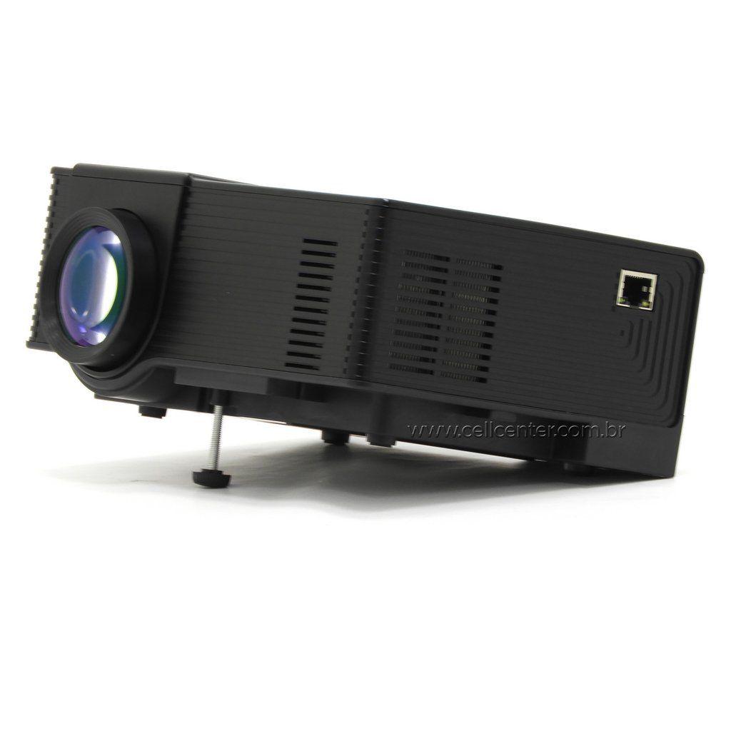 Mini Projetor Led 900 Lumens Hd 1080 Hdmi Wi-fi Usb MPR-7009