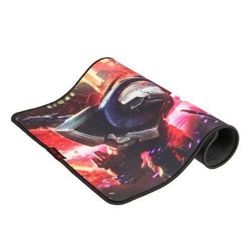 Mouse Pad Gammer Preto Emborrachado Knup Pro Gaming 32x42cm Kp-s07