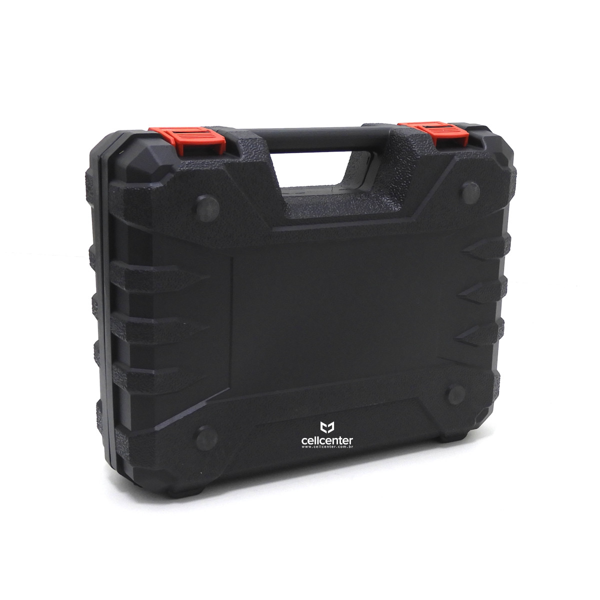 Parafusadeira e Furadeira Elétrica Sem Fio 21V 2 Baterias Bivolt