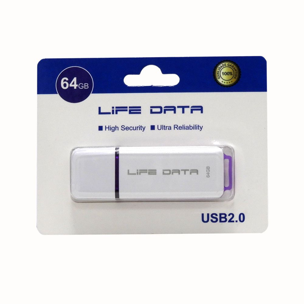 Pen Drive 64GB USB 2.0 Life Data