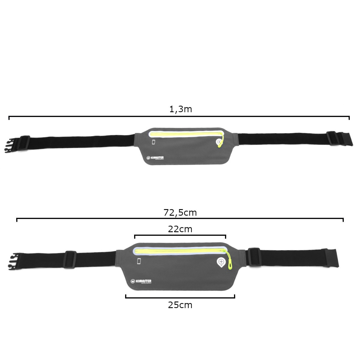 Pochete esportiva Ultra Slim para Celular até 6.3 polegadas Kimaster AR80
