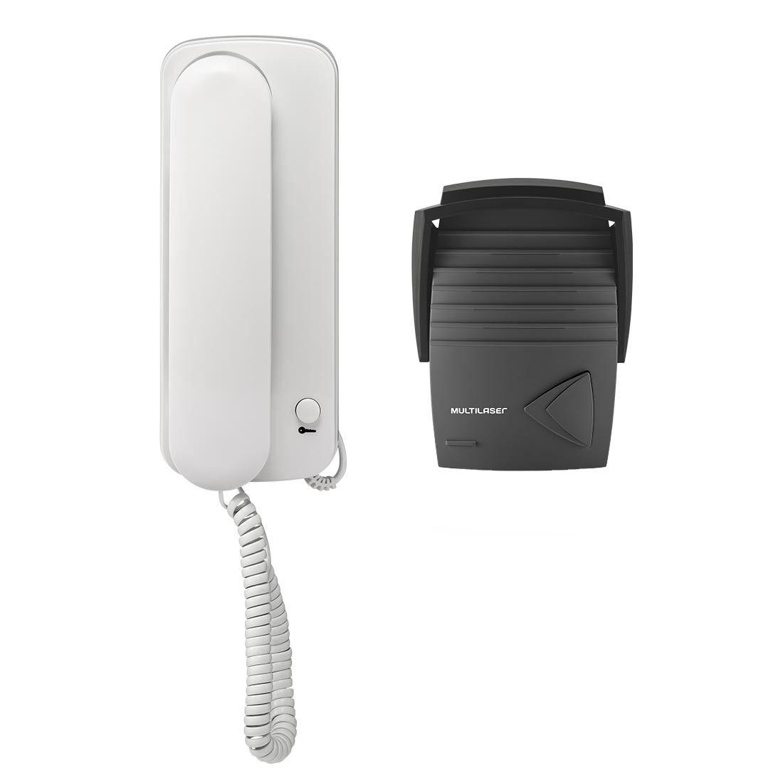 Porteiro Eletrônico Branco Se401