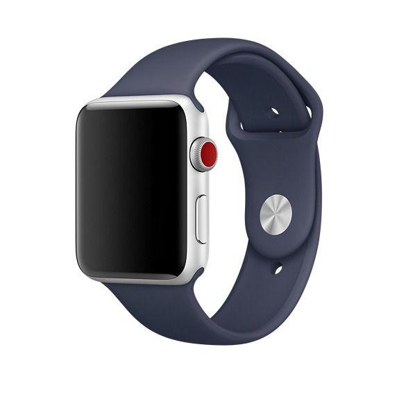 Pulseira Apple watch silicone colorida 38mm