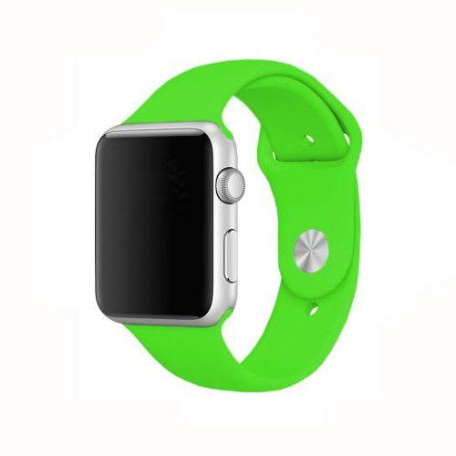 Pulseira Apple watch silicone colorida 42mm