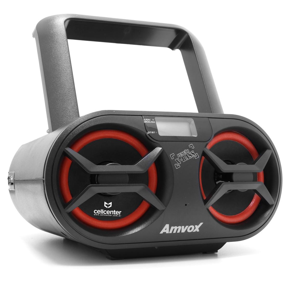 Rádio Boombox Som Cd Mp3 Player Usb Sd Fm Am Amvox AMC-590 New