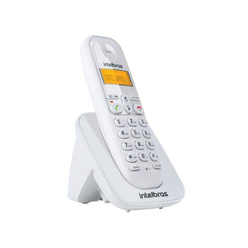 Ramal sem fio digital DECT 6.0 Bivolt Branco Intelbras - TS 3111