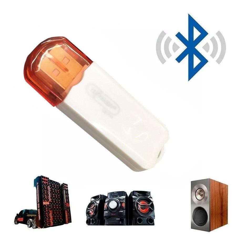 Receptor Adaptador Bluetooth Usb Transmissor Wireless Para Carro Ou Para Som Residencial, Direto Do Seu Celular