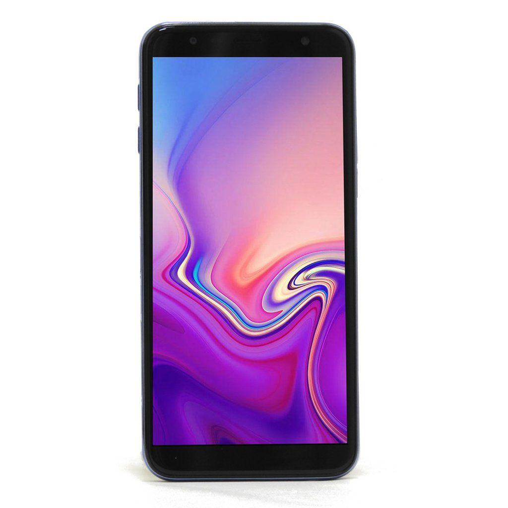 Smartphone Samsung Galaxy J6 Plus 32GB 3GB RAM Tela infinita de 6 Dual Câmera 13MP 5MP - Azul