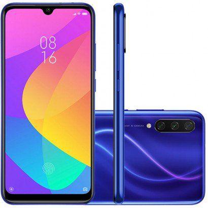 Smartphone Xiaomi MI A3 128GB 4GB RAM Versão Global Desbloqueado Azul
