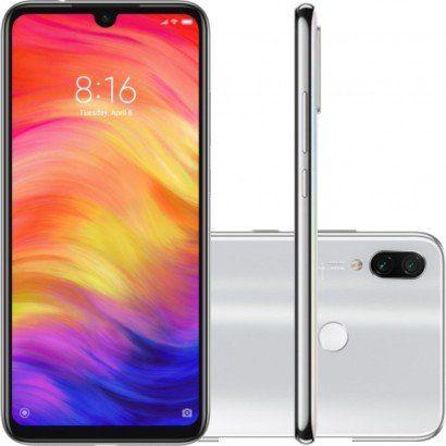 Smartphone Xiaomi Redmi Note 7 64GB Versão Global Desbloqueado Branco