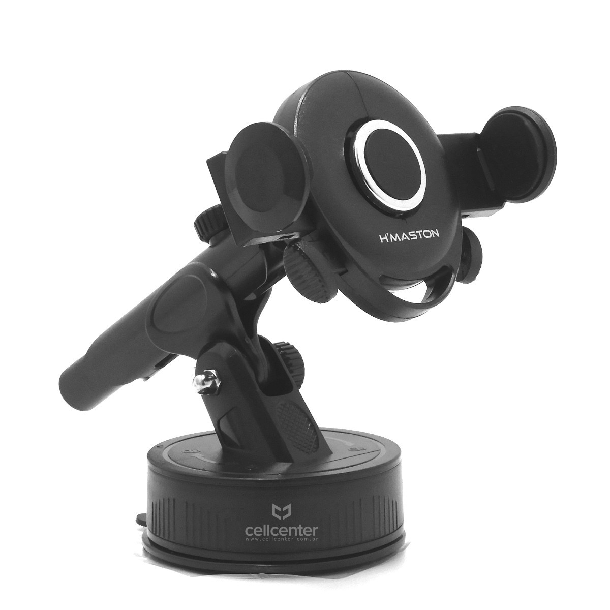 Suporte Veicular Para Celular com Fixação Ventosa H'Maston CJ-305