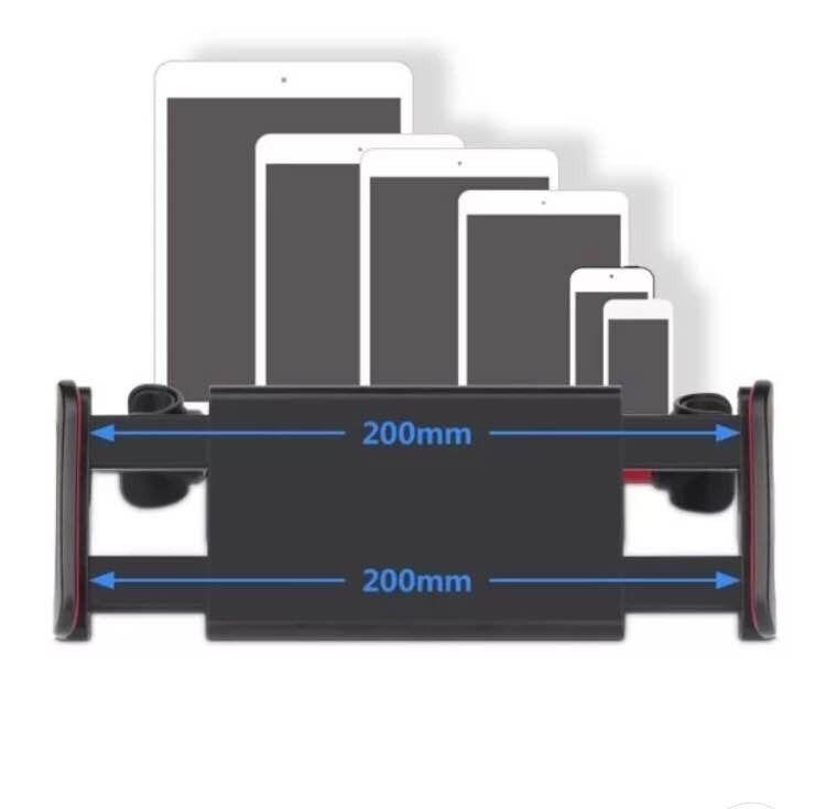 Suporte Veicular Universal Para Celular e Tablete Para Banco Traseiro