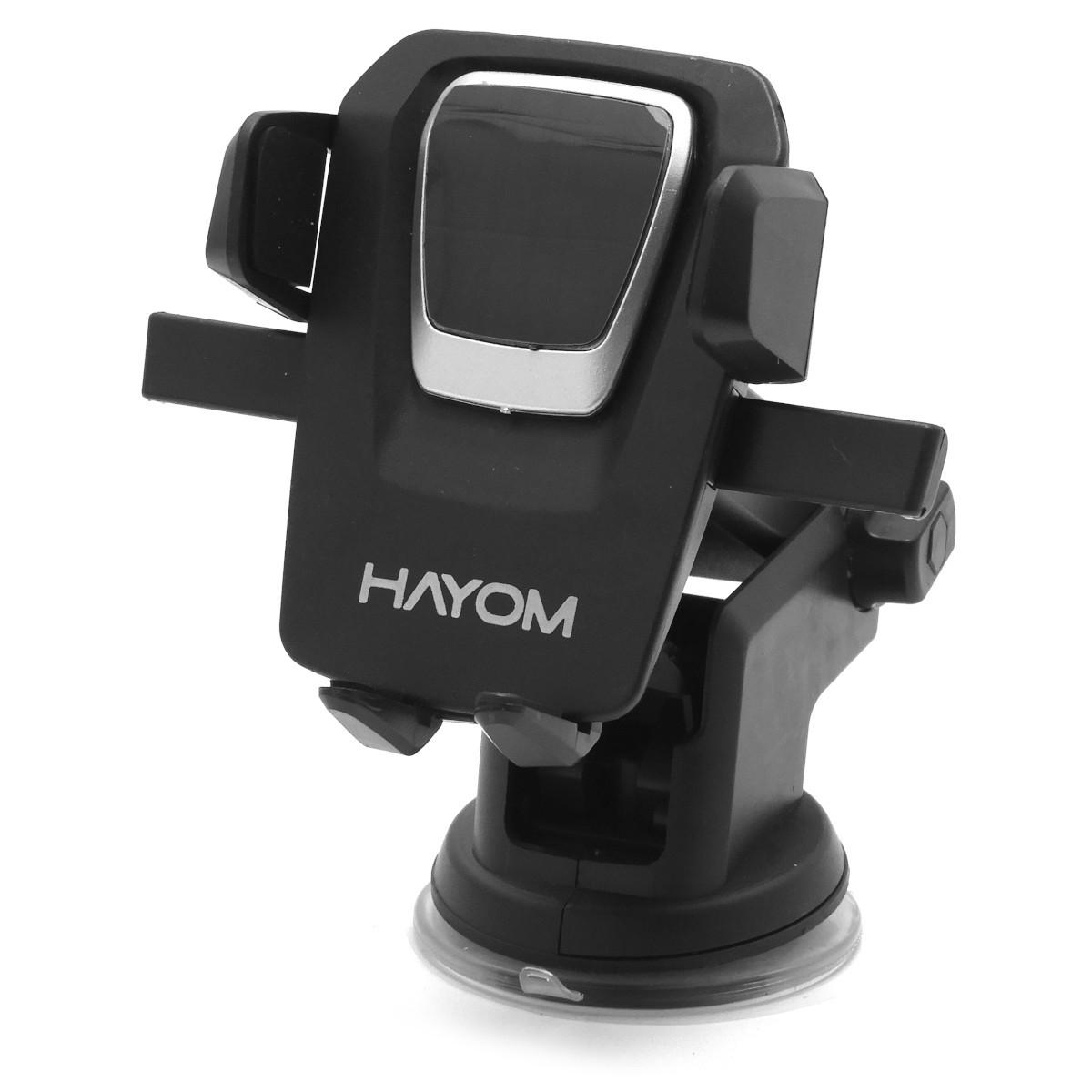 Suporte Veicular Universal para Celulares Gps Trava Automática Hayom SV3101