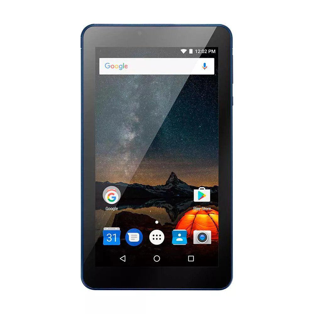 """Tablet M7S Plus Android 7 Memória Interna de 8gb Câmera de 2.0mp Wi-fi, Tela de 7"""" Azul NB274 - Multilaser"""