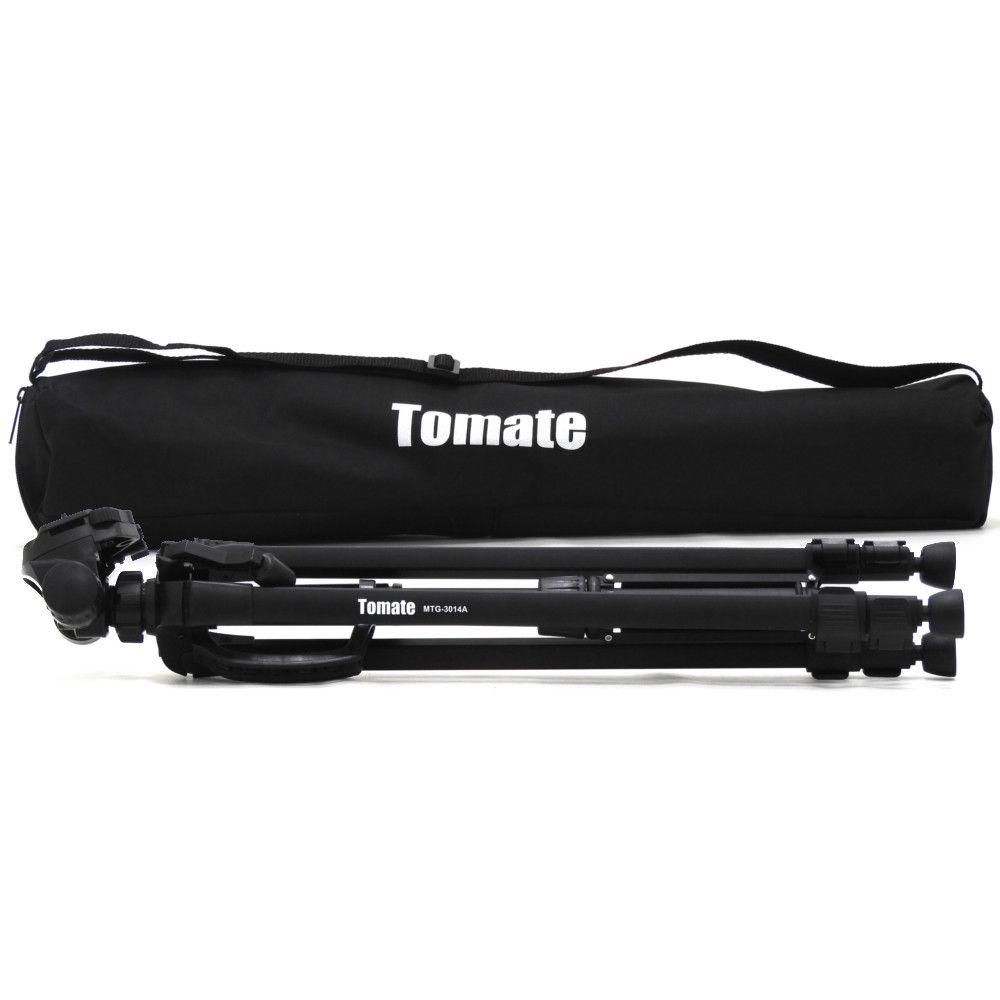 Tripé Telescópico Profissional 1,40m Tomate MTG-3014A