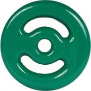 Anilha Emborrachada  4kg - Verde
