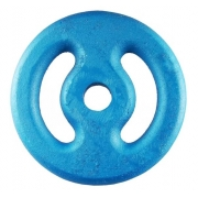 Anilha Ferro Fundido Pintada Azul 15 kg