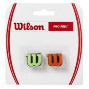 Antivibrador Wilson Wilson Pro Feel Verde e Laranja