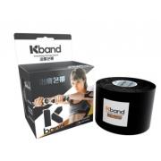 Fita Kband Bandagem Elástica Adesiva Rolo  5cm x 5m  - Preto