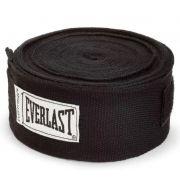 Bandagem Elástica  Everlast 4,60m  - Preta