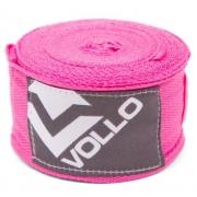 Bandagem Vollo Elástica 3m - Rosa