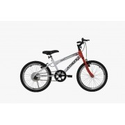 Bicicleta Athor Evolution Infantil Aro 20 - Branca Vermelha