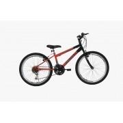 Bicicleta Athor Legacy Aro 24 - Preta Vermelha