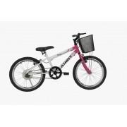 Bicicleta Athor Charmy Infantil Aro 20 S/Marcas - Branca Rosa