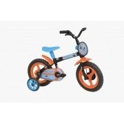 Bicicleta Athor Mundo Mágico Infantil Aro 12 - Preta Azul